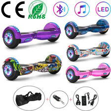 """Electric Scooters 6.5"""" Hoverboard Bluetooth Self Balance Scooter LED 2 Wheel+Bag"""