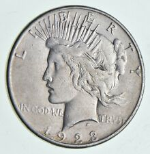 Early - 1923 - Peace Silver Dollar - 90% US Coin *517
