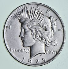 Early - 1923 - Peace Silver Dollar - 90% US Coin *816