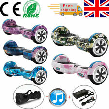 """Self-Balancing Scooter 6.5"""" Hoverboard Electric Scooter Bluetooth Balance Board"""