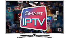 IPTV 1 Months +8400 Channels&Vod Smart TV MAG Quality BOX ANDROID 4K Full HD