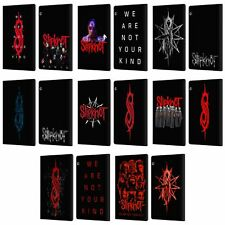 SLIPKNOT WE ARE NOT YOUR KIND LEATHER BOOK WALLET CASE FOR HUAWEI XIAOMI TABLET