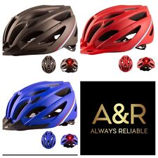 Bike helmet with LED light & Rechargeable LED Bike Lights