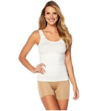 Yummie White Seamless Shaping Shapewear Reversible Tank Top Compression NEW