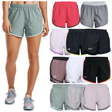 2020 Under Armour Ladies Fly-By 2.0 Shorts UA Gym Training Running Crossfit