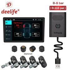 Deelife TPMS Android USB Tire Pressure Monitor System for ANDROID Car DVD Radio