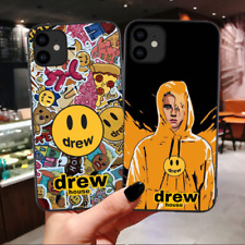 Luxury brand Drew House Justin Bieber Soft Phone Case For iPhone 11 Pro MAX Smil