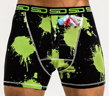 Paintball Smuggling Duds Men's Boxer Shorts - Green and avaiable in S,M,L & XL