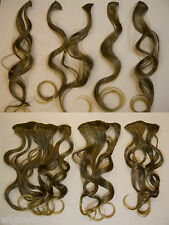 Clip-in Extension NATURAL BODY WAVE PRM QLT FIBER 8 PC
