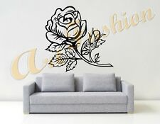 WALL STICKERS STICKER ADESIVI MURALI ADESIVO MURALE ROSA ART DECAL DESIGN WS0587