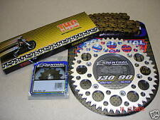 O Ring Chain And Silver Renthal Sprocket Kit YZ YZF WRF WR 125/250/400/426/450