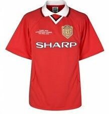 Manchester United FC Official Gift Champions League 1999 Final Retro Shirt