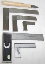 """Igaging precision square (2"""",4"""",6"""" engineer) (4"""",6""""  double) ( 2"""",3"""" bevel) new"""