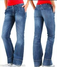 Jeans Donna Pantaloni SEXY WOMAN A357 Made in Italy Tg XS S M