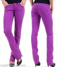 Jeans Donna Pantaloni SEXY WOMAN Made in Italy A652 Tg S M veste piccolo