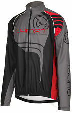 GHOST Bikes Wind Jacket Windjacke black/red/grey, ehem. UVP 99,90€