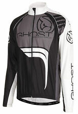 GHOST Bikes  Wind Jacket Windjacke black/white/grey, ehem. UVP 99,90€