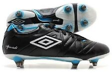 Umbro Speciali 3 Pro A SG Football Boots Black White Vivid Blue RRP £85