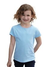 FRUIT OF THE LOOM - T-Shirt 'Girls Value Weight T' - kids - kinder - NEU