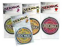 2 Sex Wax Air Fresheners Mr Zogs - 4 Flavours
