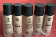 W7 Photo Shoot 16 Hour Budge Proof Foundation San Beige, Natural , Buff, Tan