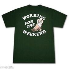 T-shirt Homer Simpson Working for the weekend maglia Uomo ufficiale Simpsons
