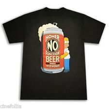 T-shirt Homer Simpson No function Beer Birra maglia Uomo ufficiale Simpsons
