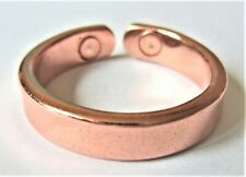 Classic Copper + Magnets Ring Magnetic Small Medium Large Hand Crafted Arthritis