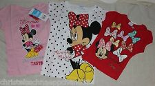 Disney Minnie Maus T-Shirt  Gr. 92, 104, 116, 128