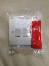 MK White Light Switch 1 Gang 2 Gang 1G 2G 1 Way 2 Way Single Pole K4870 K4871