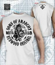 AUTHENTIC SONS OF ANARCHY REDWOOD MOTOR CLUB SOA MUSCLE T SHIRT S M L XL 2XL 3XL
