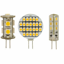 SMD LED Lampe G4 12V DC Stecklampe Sparlampe mini Stiftsockel Spot Warm-weiß