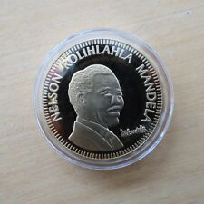 Nelson Mandela Collector Medal South Africa 10 Years to Freedom
