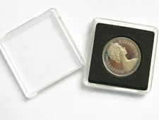 5 Lighthouse Square Coin Capsules Quadrum Sizes 14mm to 41mm
