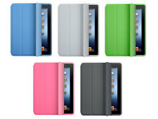 Smart magnetic stand Cover+ hard Back Case for apple new iPad sleep wake flip