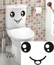 Funny Cartoon All Seeing Eyes Toilet Entrance Sign For Home Bathroom Restroom