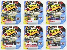 Hot Wheels High Speed Wheels Fiesta Mustang Pontiac + more toy cars 1:64 scale