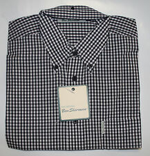 Ben Sherman langarm Button Down Hemd regular fit weit geschnitten kariert
