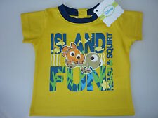 DISNEY Really Cute Yellow Pixar FINDING NEMO T-Shirt NWT