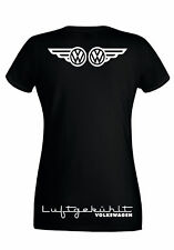 VW VOLKSWAGEN 'WINGS' GRAPHIC SKINNY HIGH QUALITY 100% COTTON T SHIRT 3 DESIGNS