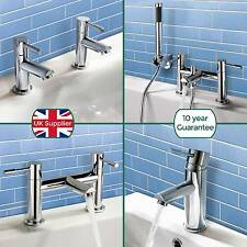 BLOSSOM BATHROOM SINK BASIN MONO BATH FILLER SHOWER MIXER TAP CHROME SOLID BRASS