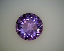 NATURAL FINE RUSSIAN PURPLE AMETHYST - ROUND - TOP GRADE - LOOSE GEMSTONE