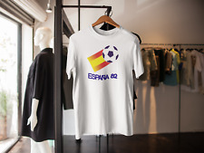 ESPANA 82 SPAIN WORLD CUP LOGO T-SHIRT CLASSIC RETRO FOOTBALL BRAZIL 2014