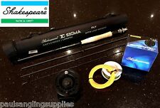 Shakespeare Sigma Fly Fishing Rod  Reel  Backing & Fly Line    Carbon Fibre