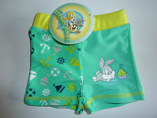 LOONEY TUNES Bugs Bunny Swim Shorts NWT