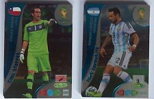 PANINI ADRENALYN XL FIFA World Cup  2014 FANS FAVOURITES & GOAL STOPPERS Cards