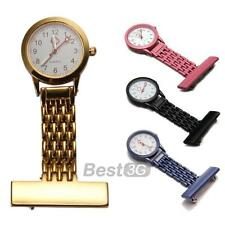Montre Infirmière Poche Mouvement à Quartz Nurse Watch Broche Epingle