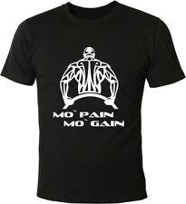 Mister Merchandise Cooles Fun T-Shirt Mo´ Pain Mo´ Gain