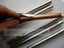 TWO 15MM  CHROME RADSNAPS RADIATOR PIPE COVERS + COLLARS