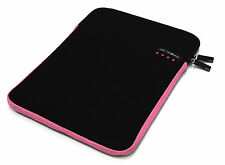 "Clublaptop Laptop Sleeve Bag 13.3 14"" 15.6"" For HP/DELL/LENOVO/ACER(BLACK PINK)"